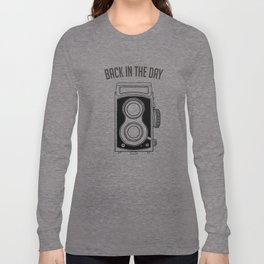 Back in the Day Old Camera Long Sleeve T-shirt