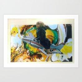 Flying High AF Art Print