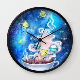 tea and the lemon universe Wall Clock