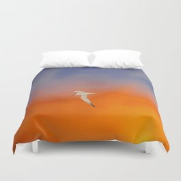 Edge of Sunset Duvet Cover