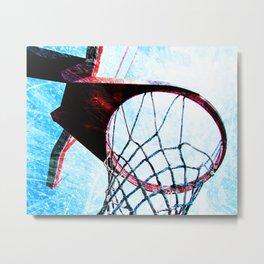 Basketball artwork spotlight vs 4 sports art Metal Print