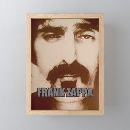 FRANK ZAPPA MIREL 1 Framed Mini Art Print