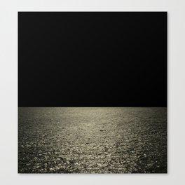 mareggiata dorata Canvas Print