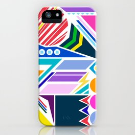 Geo Splash iPhone Case