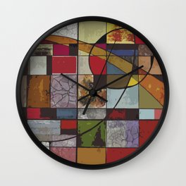 Circle of Colors Wall Clock