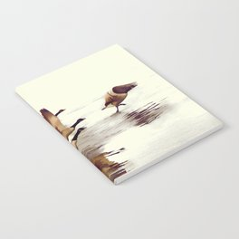 The Take Off - Wild Geese Notebook