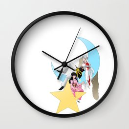 Hypnotize the Moon Wall Clock
