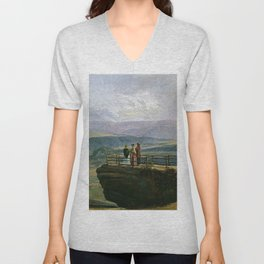 View From Bastei - Digital Remastered Edition Unisex V-Neck