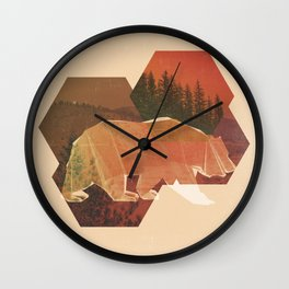 POLYBEAR Wall Clock