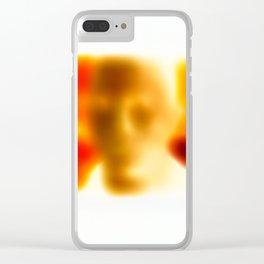 James Negative / Clear iPhone Case