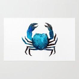 Cerulean blue Crustacean Rug