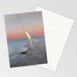 Sunset Travel Stationery Cards