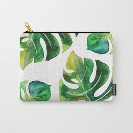 Wildness In Monstera Carry-All Pouch