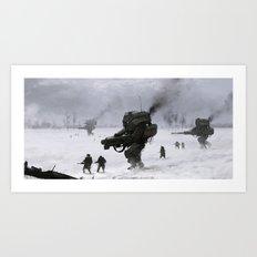 soviet army Art Print