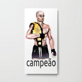 The Champion Metal Print