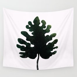 Philodendron Leaf Wall Tapestry