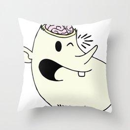 headoff Throw Pillow