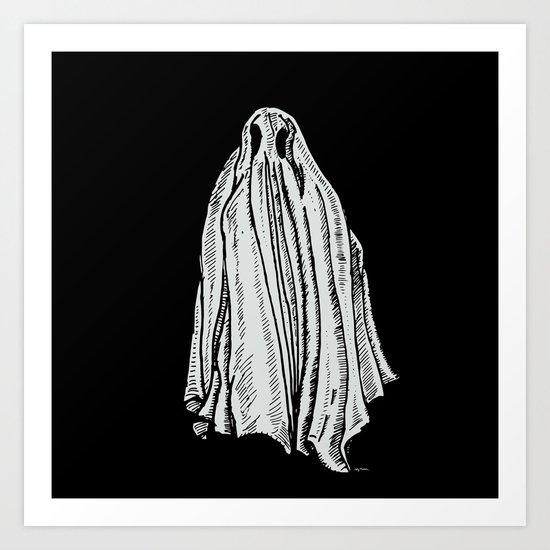 Sheet Ghost  Art Print