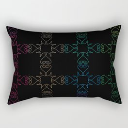 Moroccan seamless pattern Rectangular Pillow