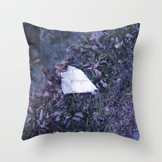 Fight for life. Throw Pillow