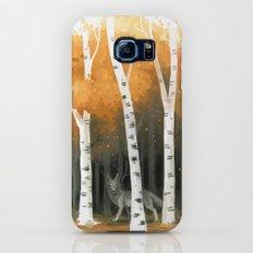 Autumn Wolf Slim Case Galaxy S7