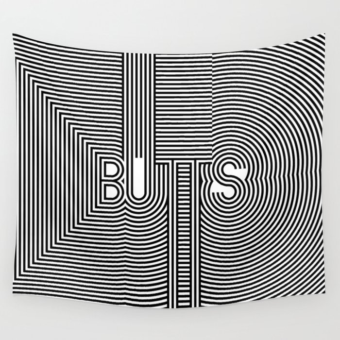 BUTTS Wall Tapestry