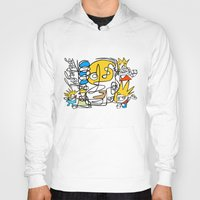simpsons Hoodies featuring Simpsons by Ray Kane