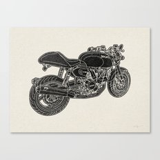 GT1000 Motorcycle Canvas Print