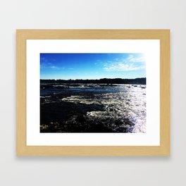 Kukkola river 3 Framed Art Print