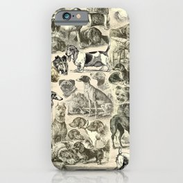 KENNEL - OVER 20 DOG BREEDS COLLAGE iPhone Case