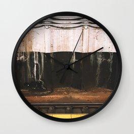 broad street line filth Wall Clock