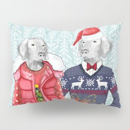 UGLY CHRISTMAS SWEATER WEIMS Pillow Sham