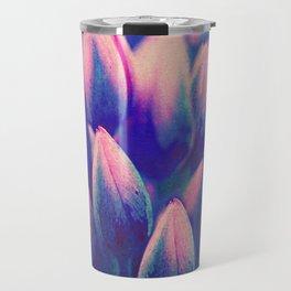 Floral abstract(56) Travel Mug