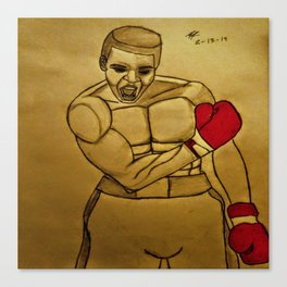 Ali by Double R Canvas Print