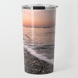 Last rays of light at sunset Travel Mug