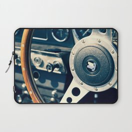 Old Triumph Wheel / Classic Cars Photography Laptop Sleeve