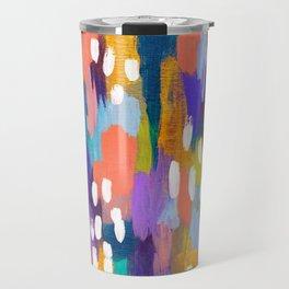 Jules - Abstract Travel Mug