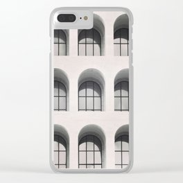 Rome Black and white photography Modern architecture Urban photo City architecture Italy travel Clear iPhone Case
