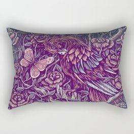 Against Rectangular Pillow