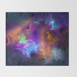 Spaceology Throw Blanket
