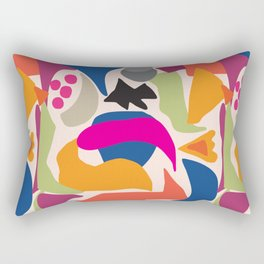 Black Fish Rectangular Pillow