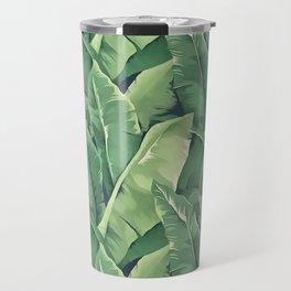 Banana leaves IV Travel Mug