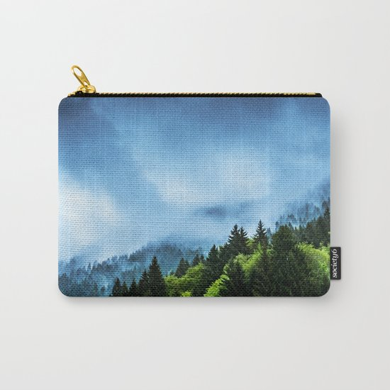 Charming Winter Carry-All Pouch