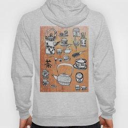 Chinese Tea Doodles 2 Hoody