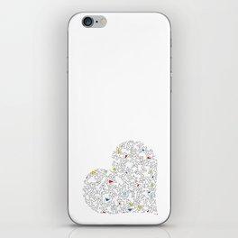 Heart (5) iPhone Skin