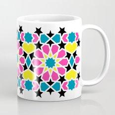 Arabesque CMYK Coffee Mug