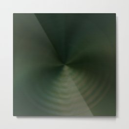 Green Distortion Metal Print