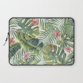 Palm Leaves Pattern 10 Laptop Sleeve