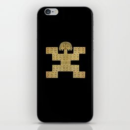 Pectoral Pre-Columbian Gold Piece iPhone Skin