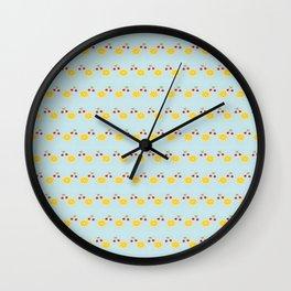 Mouthful of Summer Freshness Wall Clock
